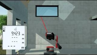 Leica Entfernungsmesser Disto X310 : Leica disto intro video clip