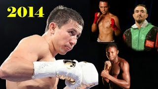 Gennady Golovkin \ 2014 \ 3 fights \ 3 боя