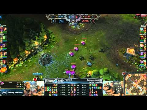 Millenium vs Anexis - Semi Final #1 ► IEM Brazil - Game 3