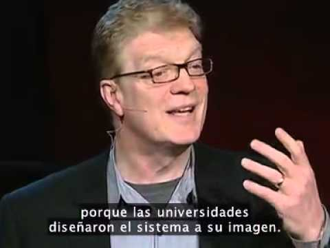 Sir Ken Robinson: Do Schools kill Creativity? Spanish Subtitles Subtitulos Español
