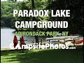 Paradox Lake Campground, Adirondack Park, New York