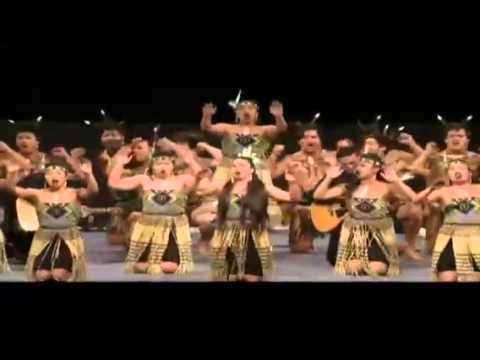Nga Puna o Waiorea waiata-a-ringa & Haka 2014