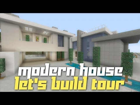 Minecraft Xbox 360: City Modern House Tour! (Completed Let's Build)