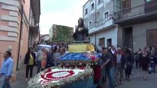 Processione San Francesco 2015 a Sartano (CS)