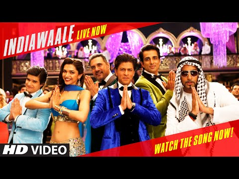OFFICIAL: 'India Waale' Video Song - Happy New Year | Shahrukh Khan | Deepika Padukone