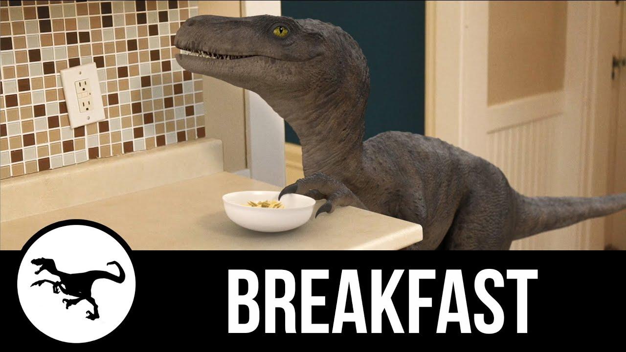 [We Have a Dinosaur - Breakfast] Video