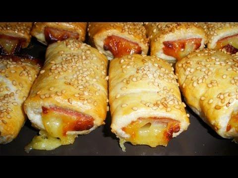 Saladitos de jamón y queso | Aperitivos fáciles