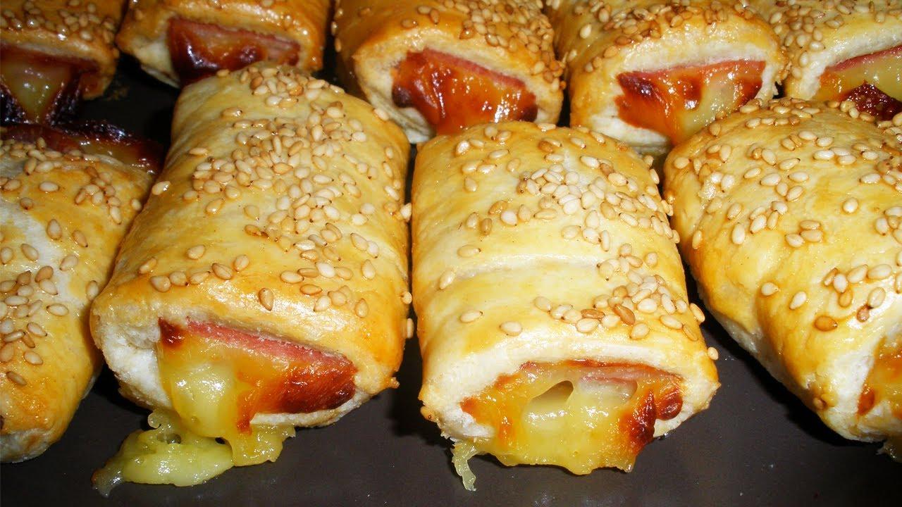 Saladitos de jam n y queso aperitivos f ciles youtube for Platos para aperitivos