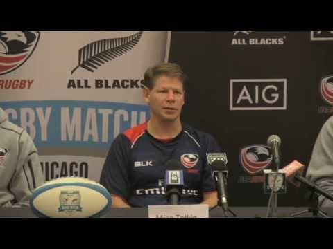 #USAvAllBlacks Press Conference