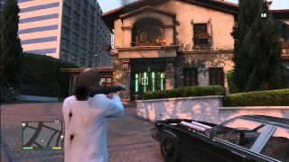 """""""Stop firing rockets at my house!"""" [GTA V]"""