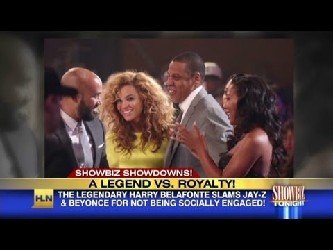 Harry Belafonte slams Jay-Z and Beyonce