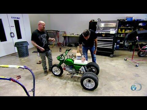 Gas Monkey Bike Build Off | Fast N' Loud