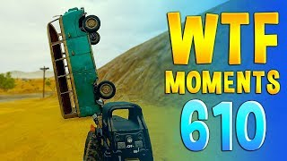 PUBG WTF Funny Daily Moments Highlights Ep 610