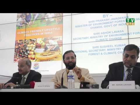 Prakash Javadekar on finance, review of INDCs, and 1.5 degrees goal