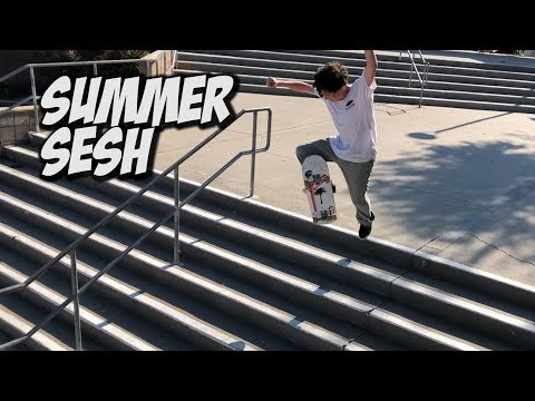 AWESOME SUMMER SKATE DAY WITH FRIENDS !!! - NKA VIDS -
