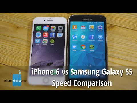 iPhone 6 vs Samsung Galaxy S5 speed comparison: which is faster?