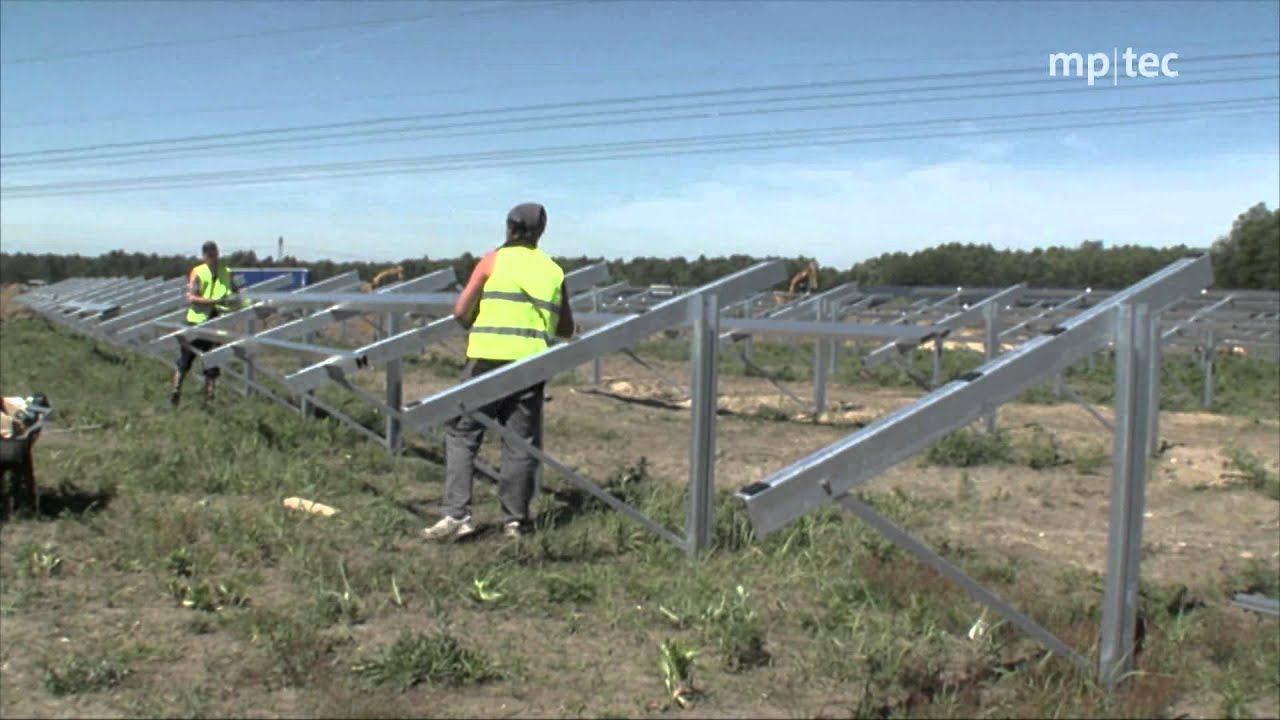 How To Erect A Solar Power Plant Reference Project By Mp