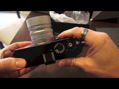 The Leica M 240 1st look Video. Menu Overview. Shutter Sound and more!
