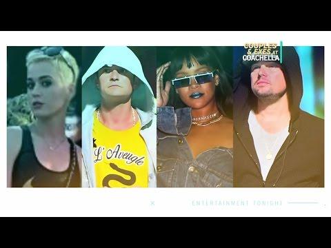 Couples & Exes At Coachella 2017: Katy Perry, Selena Gomez, & More