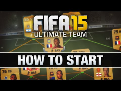 LET'S PLAY FIFA 15 - #1 'HOW TO START' - FIFA 15 ULTIMATE TEAM RTG