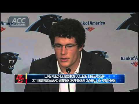 BC's Luke Kuechly Draft Press Conference