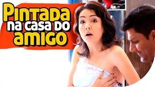 PINTADA NA CASA DO AMIGO - PIADA DE CORNO - PARAFUSO SOLTO
