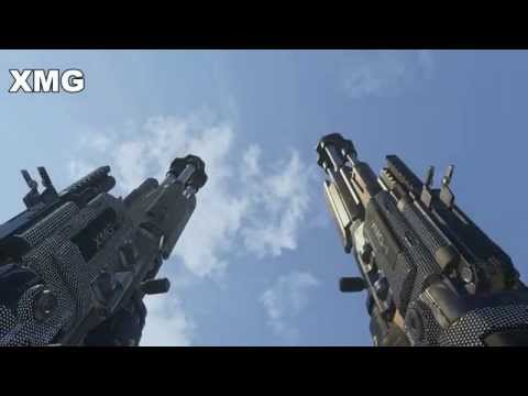 Call of duty advanced warfare diamond camo all weapons in slow motion