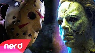 Friday The 13th vs Dead By Daylight | Rap Battle | #NerdOut! (Jason Voorhees vs Michael Myers)