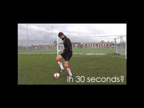Football Fitness - Soccer Training Workout - Fun Drills to keep you fit