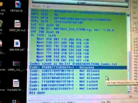 NOKIA 6300 Unlocking
