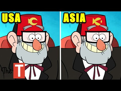 10 Gravity Falls Scenes That Were Changed In Other Countries