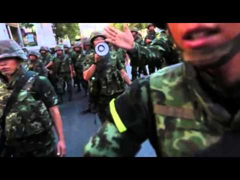 Thai Army Shuts Part of Bangkok Train Network to Combat Protests  BREAKING NEWS MUST SEE