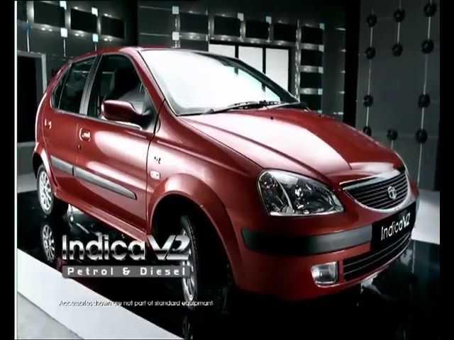 Tata Indica V2 - 2005. More car per car.