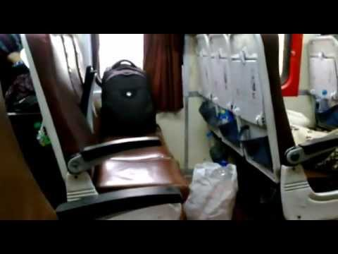 lokmanya tilak kochuveli garib rath chair car interior youtube. Black Bedroom Furniture Sets. Home Design Ideas