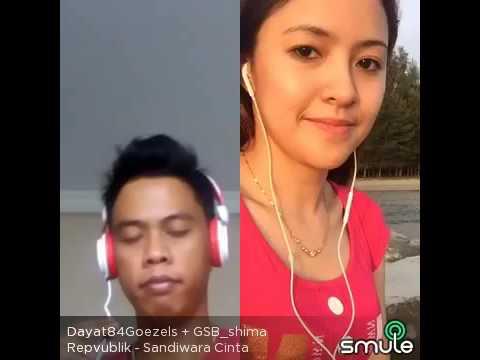 Sandiwara Cinta ( Republik) Dayat Smule feat Bersama GSB_Shima