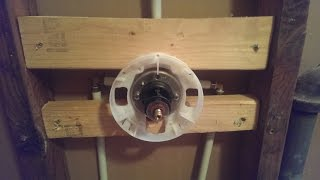 How to Rough In a Shower Mixer Valve...Installation Tips!