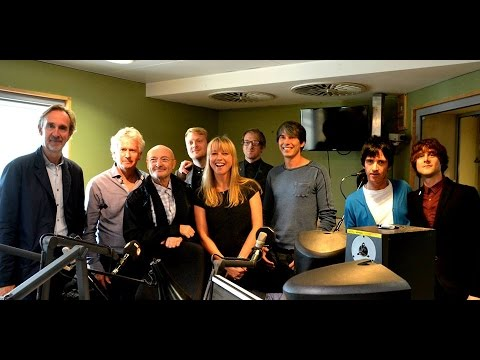 Genesis in interview on the Chris Evans breakfast show (presented by Sara Cox) 3rd. October 2014