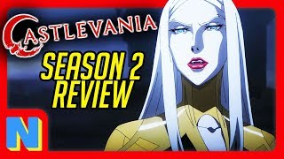 Castlevania Is The Best Video Game Adaptation: Season 2 Review! (Netflix)| Nerdflix + Chill