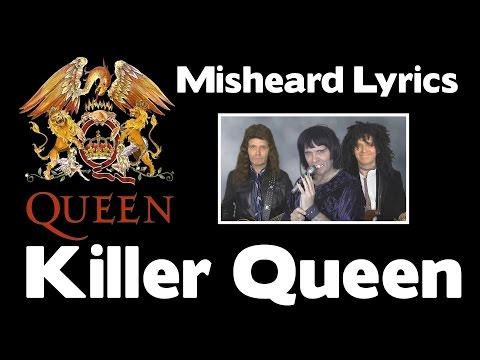 SO FUNNY!!! - QUEEN Misheard Lyrics - Killer Queen