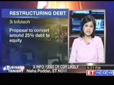 3i Infotech may restructure Rs 2000 crore debt