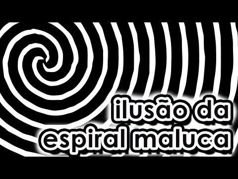 Ilusão de ótica da espiral maluca - Spiral optical illusion