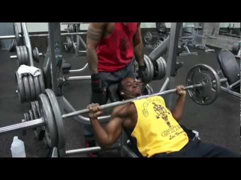 Big chest workout routine
