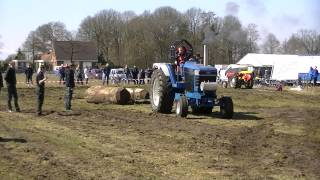 Ford 8630 Tractor pulling Test Klazienaveen