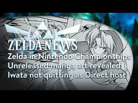 Zelda News - Nintendo World Championships, Unused Zelda comic art, Iwata's Direct absence