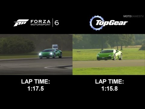 Forza Motorsport 6 vs Top Gear - Lamborghini Huracan