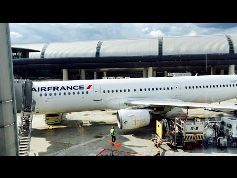 Air France Economy Class from Paris to London on an A321 [4K]