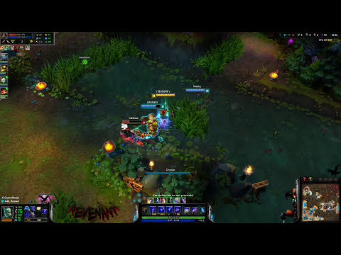 TEMPORADA 2014 | EP 116 | Fiddlesticks | Dragones a nivel 3 Easy GG