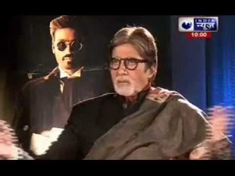 India News Exclusive interview with Amitabh Bachchan