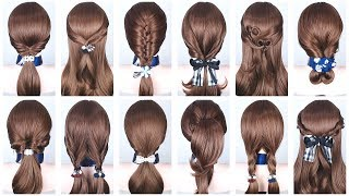 20 Easy Hairstyles for Medium & Long Hair