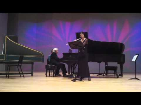 Song without Words by Charles Wadsworth (composer and piano), with Nina Perlove (flute)